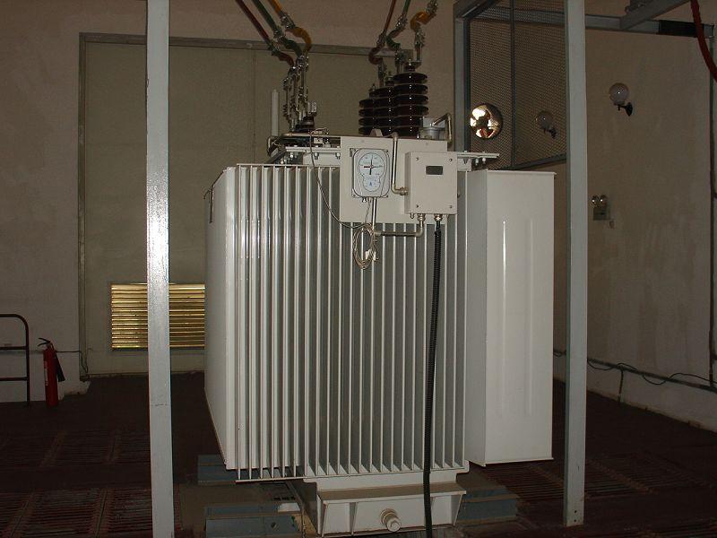 电力变压器一台:  型号:s9-m-4000/35;联结组别:yd11;短路阻抗:6.