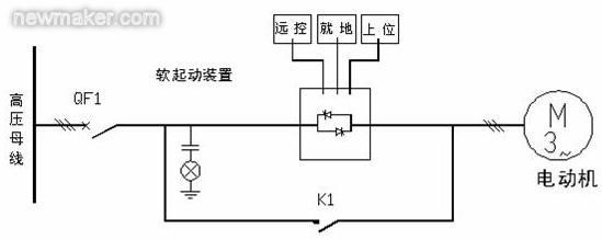 1. 引言 交流异步电动机以其构造简单、极高的运行可靠性、极强的环境适应能力和优异的拖动性能在我国煤矿、石油、化工、钢铁、发电、供水、水泥建材等领域获得了广泛的应用。但是交流异步电动机致命的缺点是起动冲击大,会对系统造成不利的影响。主要影响体现在两个方面: (1)电气方面的问题: 起动时可达5-7倍的额定电流,造成电动机绕组因电流引起过温,从而加速其绝缘老化,造成供电网电压波动,影响同电网下其他设备的正常运行。 (2)机械方面的问题: 过大的起动转矩产生机械冲击,对被带动的设备造成大的冲击力,缩短使用寿命