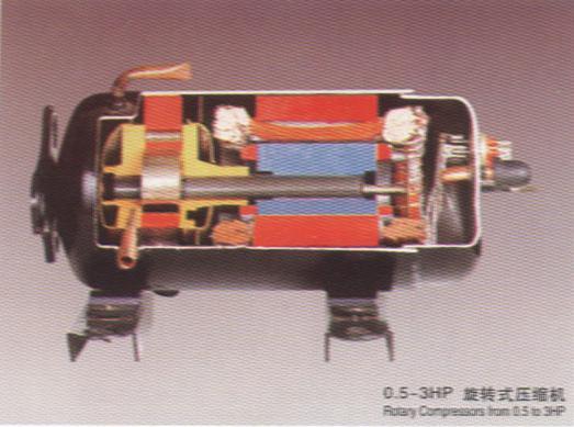活塞往复式压缩机结构图